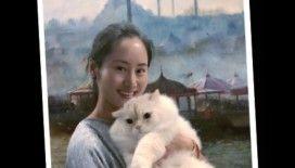 Çinli Sanatçının Ebru Aşkı