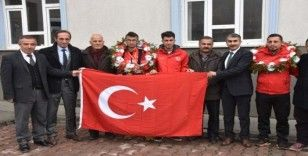 Bitlisli genç Portekiz'de Avrupa ikincisi oldu