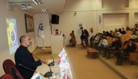 Gazeteci yazar Turan Kışlakçı'dan 'Coğrafya' konferansı