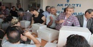 AK Partililer sandık başına gidiyor