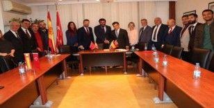 SANKON'dan İspanya Krallığı Ankara Büyükelçisine ziyaret