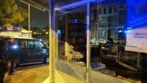 Eczanelerin camını kıran saldırgan görüntülendi