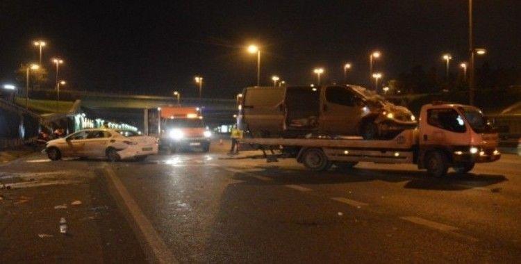 168 promil alkollü sürücü kaza yaptı: 2 kişi yaralandı
