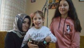 Serebral palsi hastası Nida'nın okulu 'ayağına geliyor'