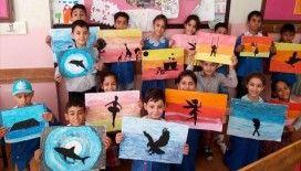 Küçük eller geleceklerini 'Keyifli Okul Atölyem'de şekillendiriyor