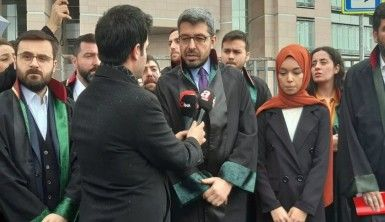 Karaköy'de başörtülü kızlara saldıran sanık hakim karşısında