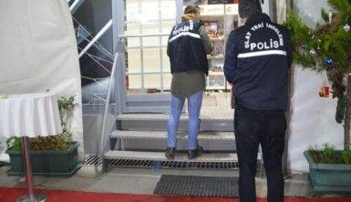 10 dakikalık dükkan soygunu film sahnelerini aratmadı
