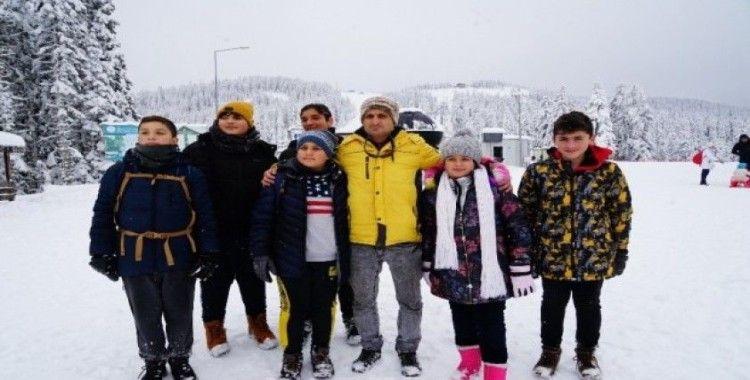 Ilgaz Dağı'nda kayak sezonu açıldı