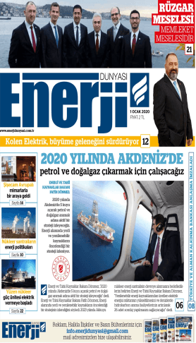 Enerji Dünyası - Ocak 2020