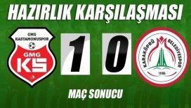 GMG KSK Karaköprü'yü tek golle geçti