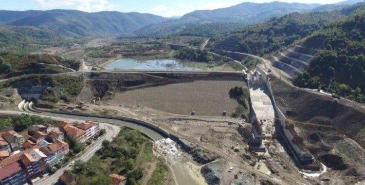 Kozcağız Barajı ekonomiye her yıl 20 milyon'luk değer katacak