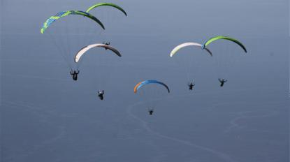 Babadağ'dan 162 bin 776 kişi uçtu