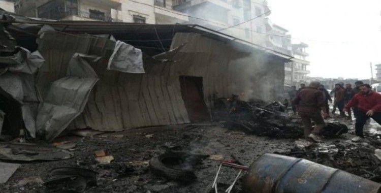 Esad rejiminden İdlib'de hava saldırısı: 7 ölü, 20 yaralı