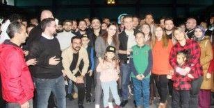 DPÜ 'Baba Parası' filminin başrol oyuncularını ağırladı