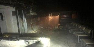 Milas Devlet Hastanesi'nde yangın paniği