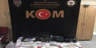 Çeyiz eşyaları arasına gizlenmiş kaçak sigaralar ele geçirildi