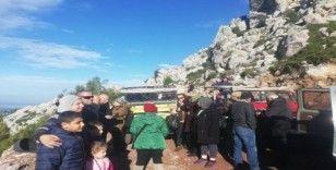 Arap turistler Marmaris'in dağlarını gezdiler