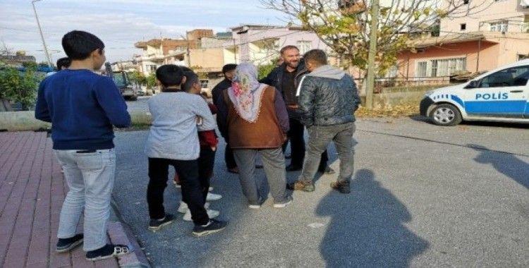 Yüksek gerilim hattına mahalle sakinleri engel oldu