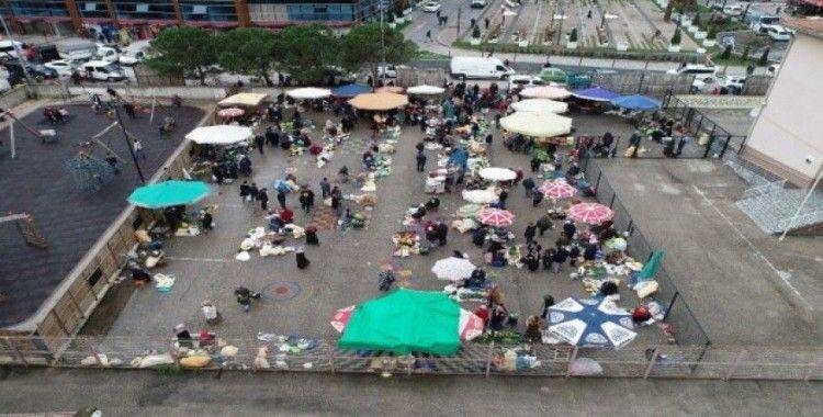 Altınordu köy pazarı yenileniyor