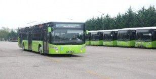 Belediye otobüsleri 1 yılda 26 bin 903 bin 802 kilometre yol yaptı