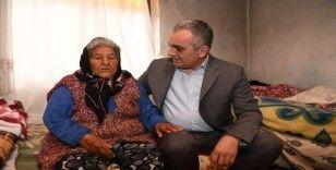 Başkan Esen'den Elif nineye yardım eli