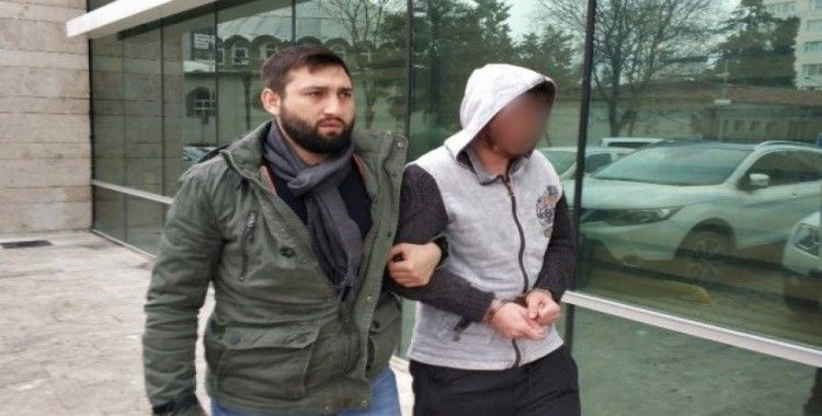 Gasp suçundan hapis cezası bulunan şahıs tutuklandı