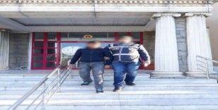 Didim'de fırın soyguncuları polisten kaçamadı