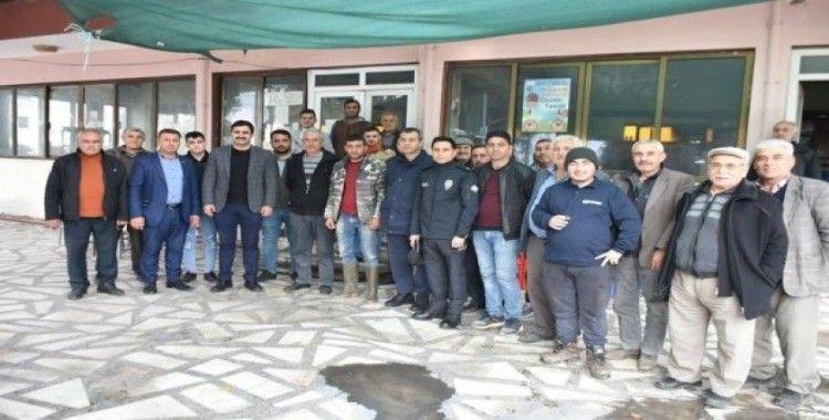 Kaymakam Ülkü, Ortakçı Mahallesi'ni ziyaret etti