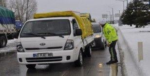 Konya - Antalya yolu 12 saat sonra trafiğe açıldı