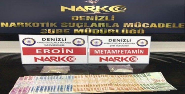 Denizli'de uyuşturucu operasyonları: 20 gözaltı