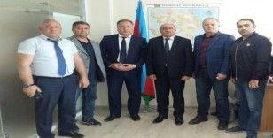 ASİMDER'den Azerbaycan MQF Başkanı Zeyni'ye ziyaret