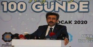 Diyarbakır'a hizmet yolunda 100 günde DİSKİ