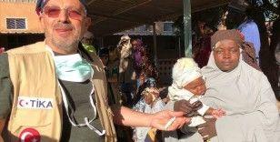 Doğumda gözleri kapanan Nijerli anneye Türk doktorlar ışık oldu