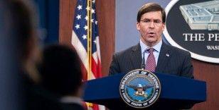 ABD Savunma Bakanı Esper: 'ABD, İran'la başlayan her savaşı bitirmeye hazır'