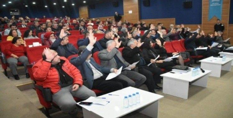 Aliağa Belediye Meclisi yılın ilk toplantısını yaptı