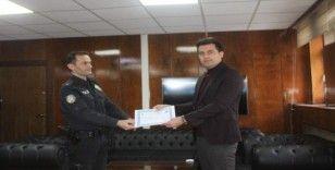 Bulanık'ta başarılı polislere 'üstün başarı belgesi'