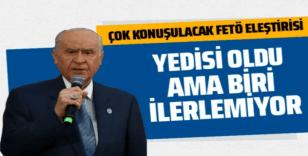 Bahçeli'den FETÖ eleştirisi: Siyaset de bu illetten temizlenmeli!