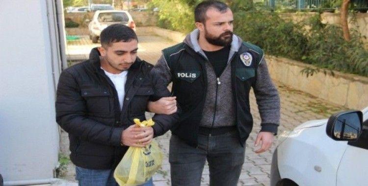 Alanya'da 241 adet uyuşturucuyla yakalanan şüpheli tutuklandı