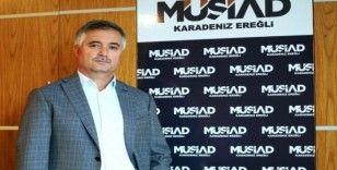 Kdz. Ereğli MÜSİAD Çalışan Gazeteciler Günü'nü kutladı