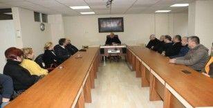 Başkan Bozkurt bastoncular ile bir araya geldi