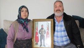 Çatışmada şehit düşen oğullarının hatıralarıyla yaşıyorlar
