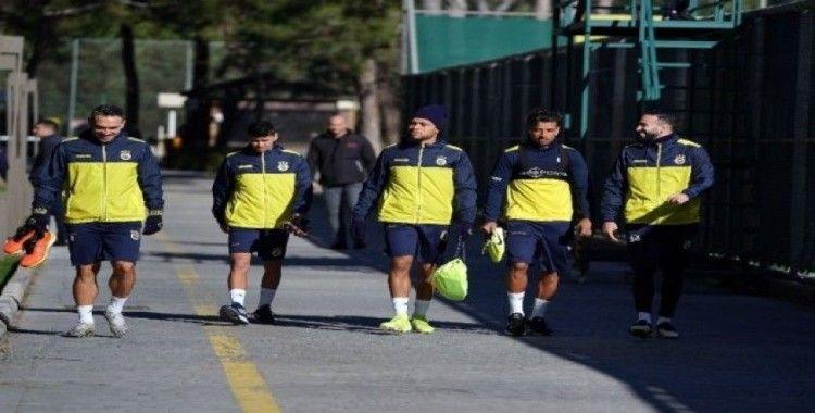 Fenerbahçe pas çalıştı