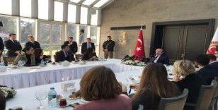 TBMM Başkanı Mustafa Şentop gazeteciler ile bir araya geldi