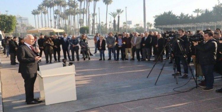"""Başkan Gültak: """"Basın, demokrasinin olmazsa olmazıdır"""""""