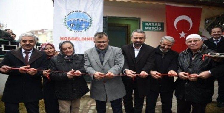 Taşköprü'de bayan mescidi hizmete açıldı