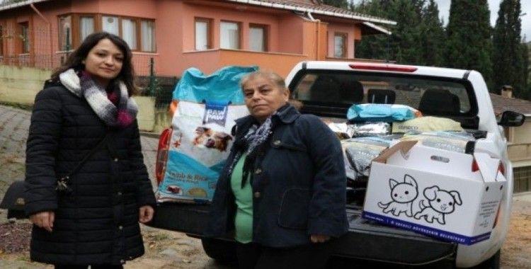 Büyükşehir'den STK'lara mama desteği