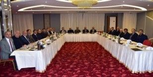 Başkan Ergün, Cumhur İttifakı'nın belediye başkanlarını ağırladı