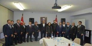 Güneydoğulu halıcılar Hannover Başkonsolosunu ziyaret etti