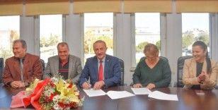 Didim Belediyesi ile Tüm Bel Sen arasında toplu iş sözleşmesi imzalandı