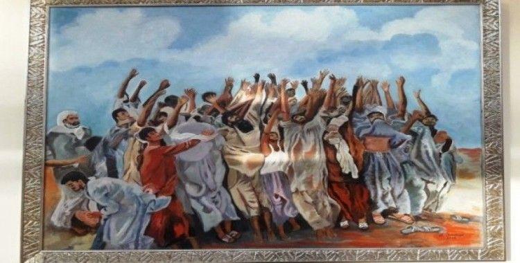 Adana'da 65 sanatçıdan karma sergi